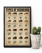 Types Of Hedgehog 11x17 Poster lifestyle-poster-8