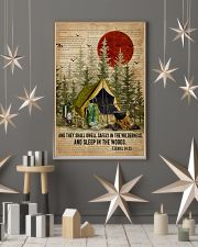 Forest Bible Sleep In The Woods Camping 16x24 Poster lifestyle-holiday-poster-1