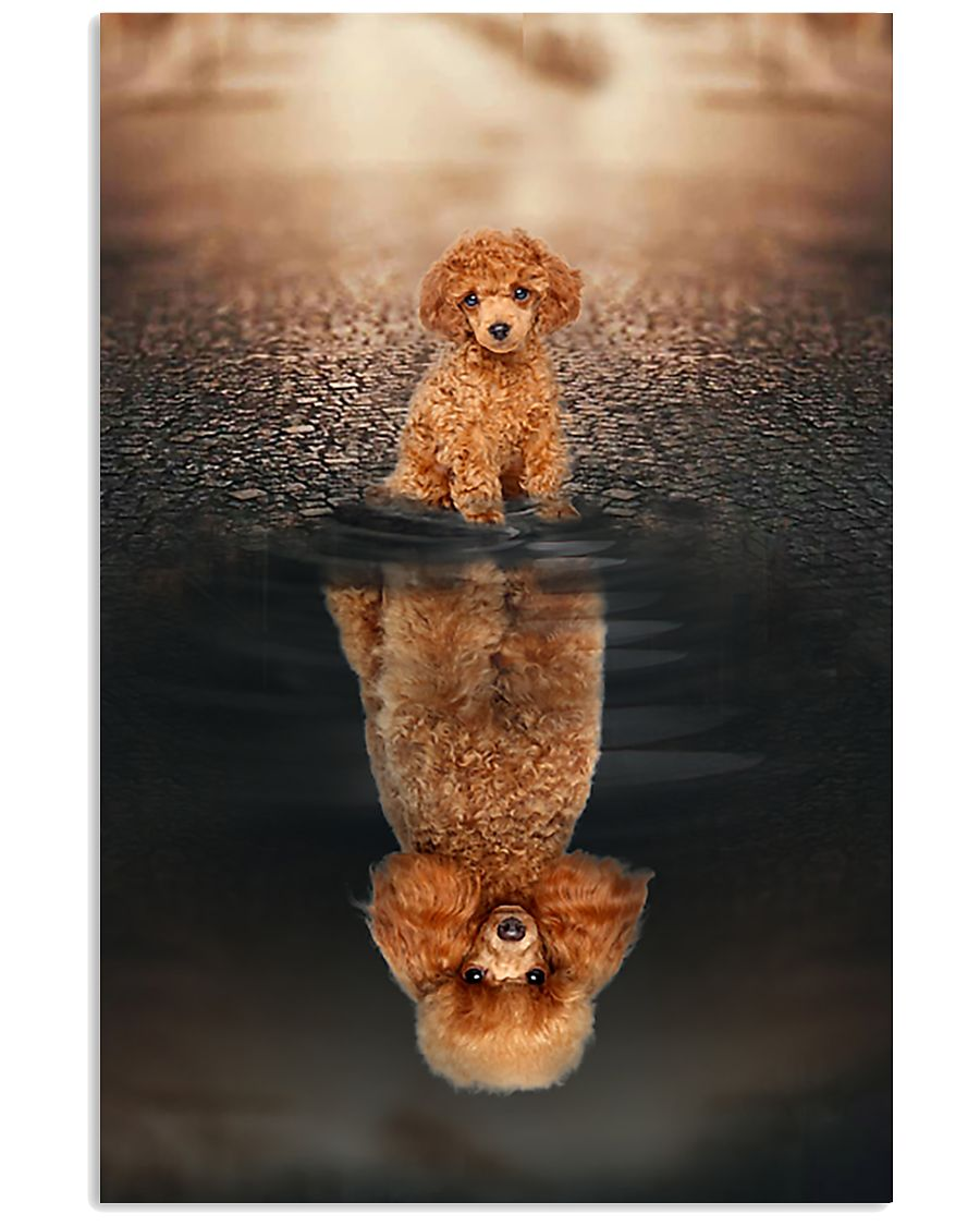 Poodle Believe In Yourself 11x17 Poster