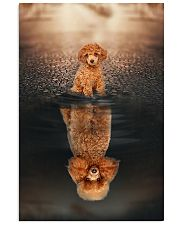 Poodle Believe In Yourself 11x17 Poster front