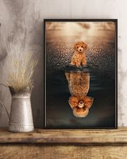 Poodle Believe In Yourself 11x17 Poster lifestyle-poster-3