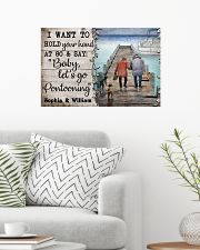 Personalized Pontoon I Want To Hold 24x16 Poster poster-landscape-24x16-lifestyle-01