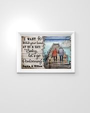 Personalized Pontoon I Want To Hold 24x16 Poster poster-landscape-24x16-lifestyle-02