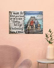 Personalized Pontoon I Want To Hold 24x16 Poster poster-landscape-24x16-lifestyle-23