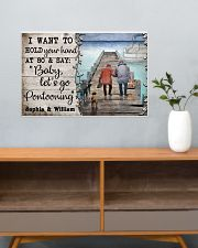 Personalized Pontoon I Want To Hold 24x16 Poster poster-landscape-24x16-lifestyle-25