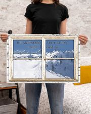 Window The Mountains Are Calling Skiing 24x16 Poster poster-landscape-24x16-lifestyle-20