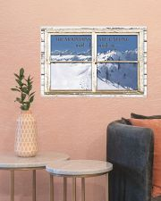 Window The Mountains Are Calling Skiing 24x16 Poster poster-landscape-24x16-lifestyle-22