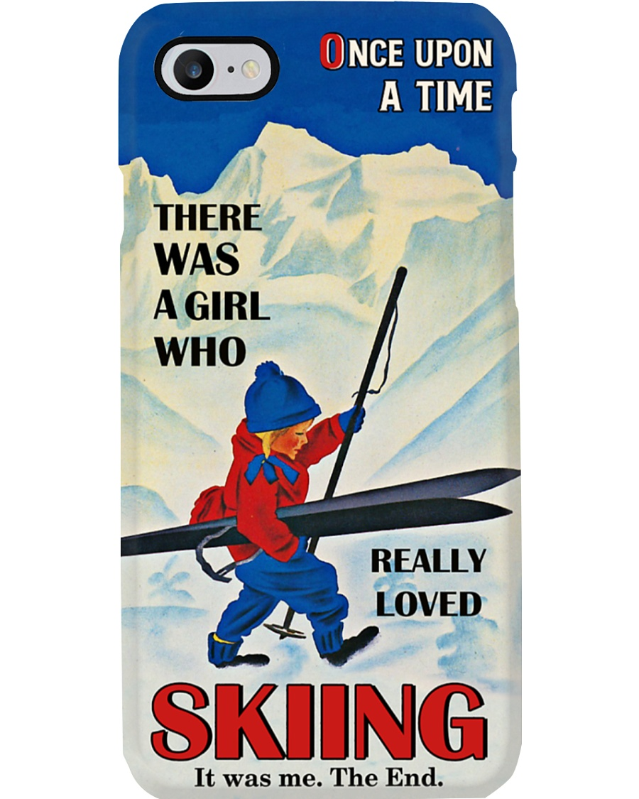 Once Upon A Time Skiing Phone Phone Case