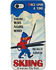 Once Upon A Time Skiing Phone Phone Case i-phone-7-case