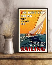 Sailing You Don't Stop Sailing 16x24 Poster lifestyle-poster-3