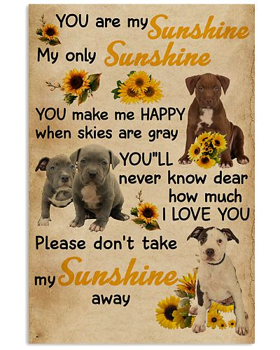 You Are My Sunshine Pit Bull