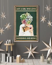 Easily distracted by Books Wine Garden 11x17 Poster lifestyle-holiday-poster-1