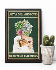 Easily distracted by Books Wine Garden 11x17 Poster lifestyle-poster-8
