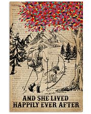 Dictionary Lived Happily Dogs And Hiking 11x17 Poster front