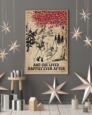 Dictionary Lived Happily Dogs And Hiking 11x17 Poster lifestyle-holiday-poster-1