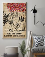 Dictionary Lived Happily Dogs And Hiking 11x17 Poster lifestyle-poster-1