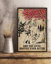 Dictionary Lived Happily Dogs And Hiking 11x17 Poster lifestyle-poster-3
