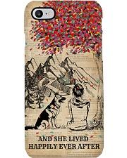Dictionary Girl Happily Ever German Shepherd Phone Case i-phone-7-case