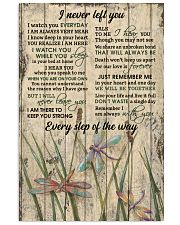 Never Left You Grass Dragonfly 16x24 Poster front