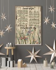 Never Left You Grass Dragonfly 16x24 Poster lifestyle-holiday-poster-1