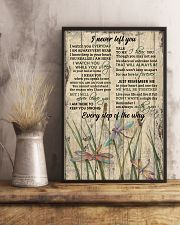 Never Left You Grass Dragonfly 16x24 Poster lifestyle-poster-3