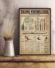 Skiing Knowledge 16x24 Poster lifestyle-poster-3