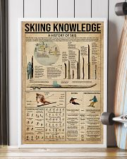 Skiing Knowledge 16x24 Poster lifestyle-poster-4