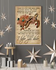 Music Sheet Hope You Dance Turtle 11x17 Poster lifestyle-holiday-poster-1