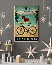 Cycling Club Pug 11x17 Poster lifestyle-holiday-poster-1
