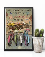 Green Pallet Bicycle I Think To Myself 11x17 Poster lifestyle-poster-8