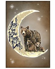 Love You To The Moon And Back Bear 11x17 Poster front