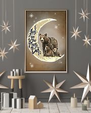 Love You To The Moon And Back Bear 11x17 Poster lifestyle-holiday-poster-1