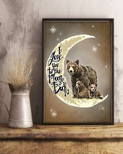 Love You To The Moon And Back Bear 11x17 Poster lifestyle-poster-3