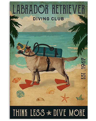 Vintage Diving Club Labrador Retriever