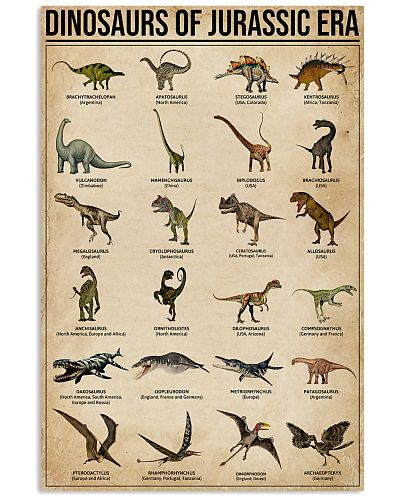 Dinosaurs Of Jurassic Era