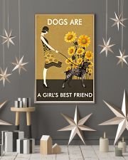 Sunflower Vintage Love German Shorthaired Pointer 11x17 Poster lifestyle-holiday-poster-1