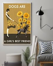 Sunflower Vintage Love German Shorthaired Pointer 11x17 Poster lifestyle-poster-1