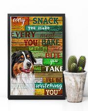 Australian Shepherd Every Snack You Make Dog 11x17 Poster lifestyle-poster-8