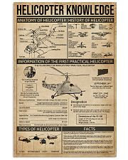 Helicopter Knowledge 11x17 Poster front
