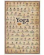 Yoga Poses 16x24 Poster front