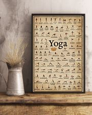 Yoga Poses 16x24 Poster lifestyle-poster-3