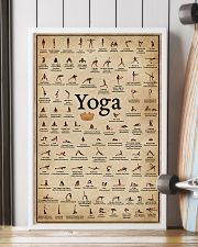 Yoga Poses 16x24 Poster lifestyle-poster-4