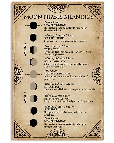 Moon Phases Meanings Witchery