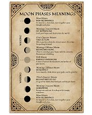 Moon Phases Meanings Witchery 16x24 Poster front