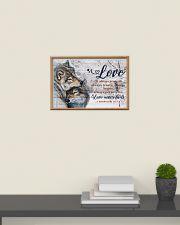 Wolf Couple Love Never Fails 24x16 Poster poster-landscape-24x16-lifestyle-09