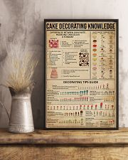 Cake Decorating Knowledge 11x17 Poster lifestyle-poster-3