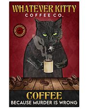 Black Cat Coffee Company 16x24 Poster front