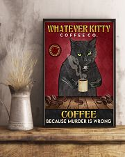 Black Cat Coffee Company 16x24 Poster lifestyle-poster-3