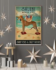 Beach Life Sandy Toes Saluki 11x17 Poster lifestyle-holiday-poster-1