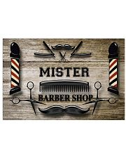 Personalized Barber Shop 24x16 Poster front